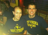 Cheering West Virginia